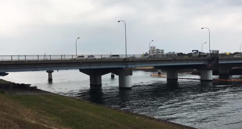 動画:大分 釣りスポット 乙津川河口 シーバス チヌ キビレ カイズ セイゴ YouTube