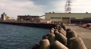 動画:大分 釣りスポット 日吉原公共埠頭 三国工業裏 アジング メバリング ショアジギング 釣りガールも安心の堤防 YouTube