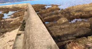 動画:エギング スポット 地磯 下ノ江 岬先端まで移動撮影 大分臼杵の車で行ける磯 遠浅 砂浜 ショアジギング 釣りガールも釣りしやすい地磯 YouTube