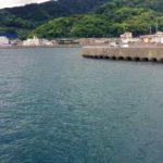 動画:綺麗な津久見の港 ほごたん屋釣具店と津久見港堤防 保戸島航路発着場