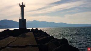 動画:アジング苦戦 5号地 白灯台テトラ周辺 5月11日
