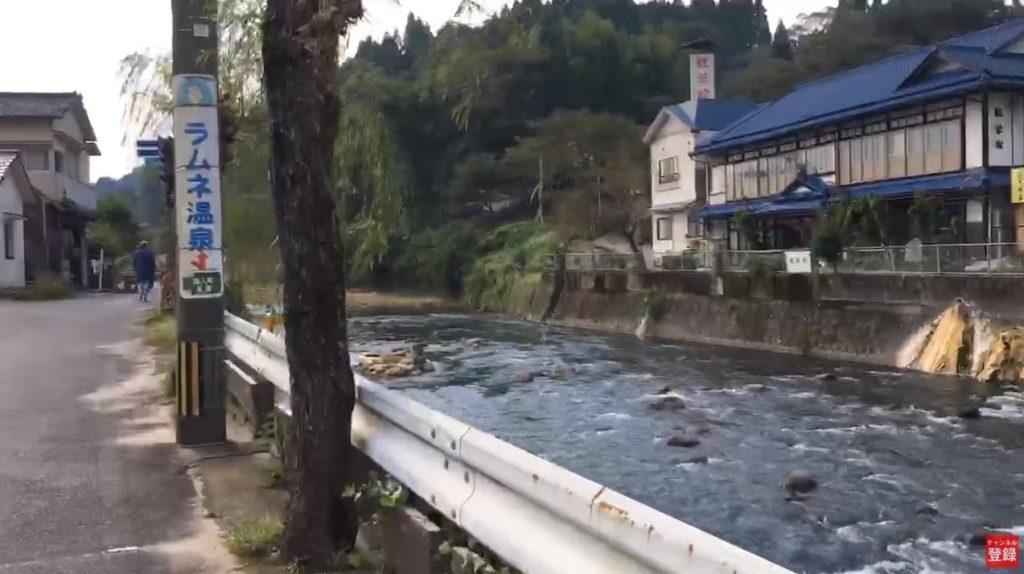 釣り場ライブ配信:温泉街の中心を流れる清流 芹川 長湯温泉 御前湯 ヤマメ アマゴ 鯉 釣り