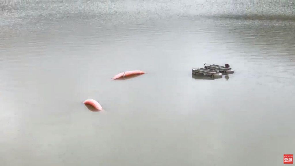 釣り場ライブ配信:ブラックバスで人気の釣り場 台風25号通過直前の師田原ダム
